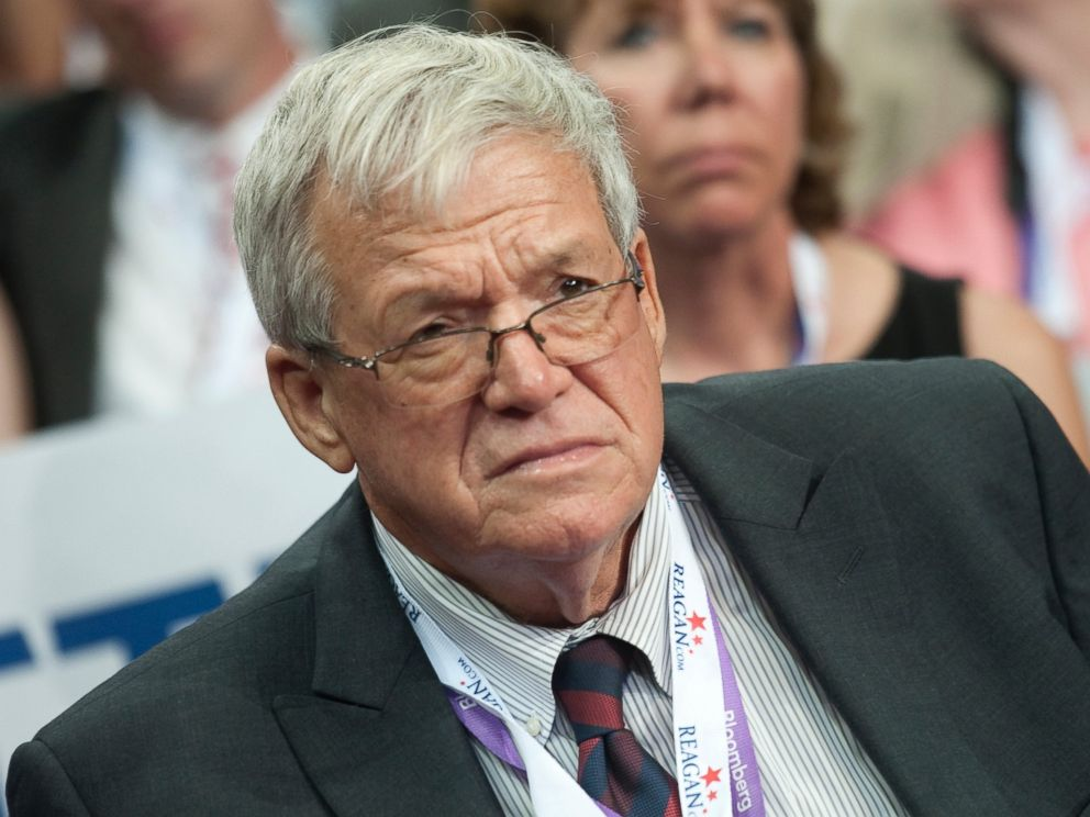PHOTO: Former Speaker of the House Dennis Hastert, R-Ill., is in the Illinois delegation at the 2012 Republican National Convention at the Tampa Bay Times Forum.