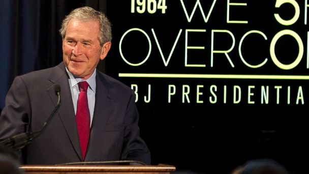 PHOTO: Former President George W. Bush is pictured on April 10, 2014 in Austin, Texas.