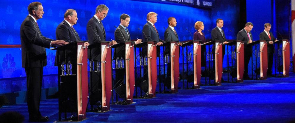 PHOTO: Republican presidential candidates