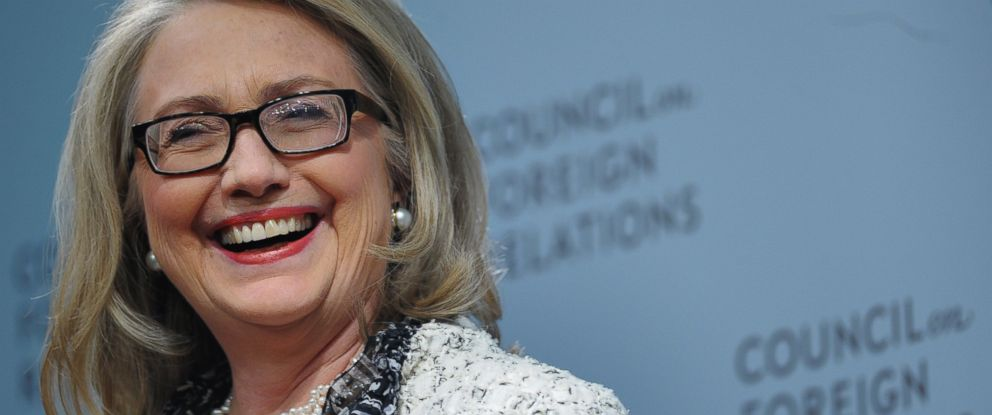 PHOTO: Former Secretary of State Hillary Clinton
