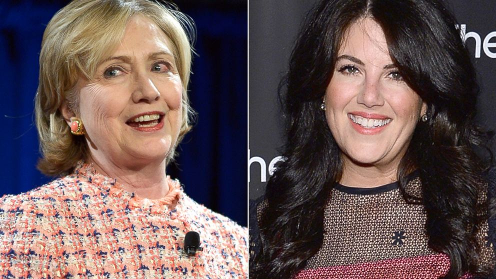 Image result for monica lewinsky hillary clinton