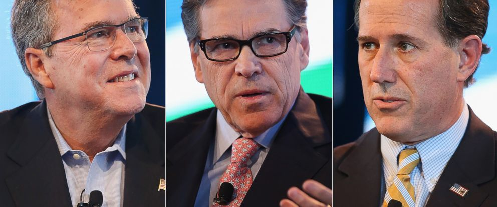 PHOTO: Jeb Bush | Rick Perry | Rick Santorum