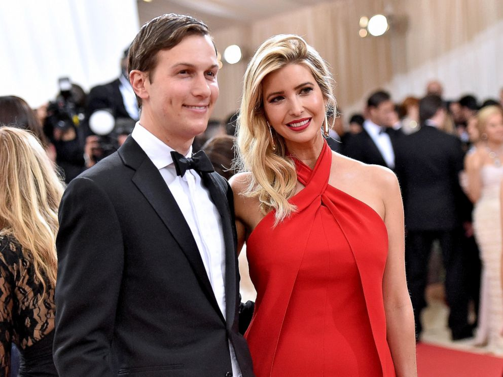 PHOTO: Jared Kushner and wife Ivanka Trump attend the Manus x Machina: Fashion In An Age Of Technology Costume Institute Gala at Metropolitan Museum of Art, May 2, 2016, in New York City.