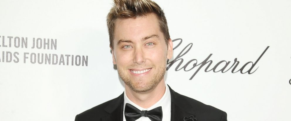 PHOTO: Lance Bass arrives at the 22nd Annual Elton John AIDS Foundations Oscar viewing party held on March 2, 2014.