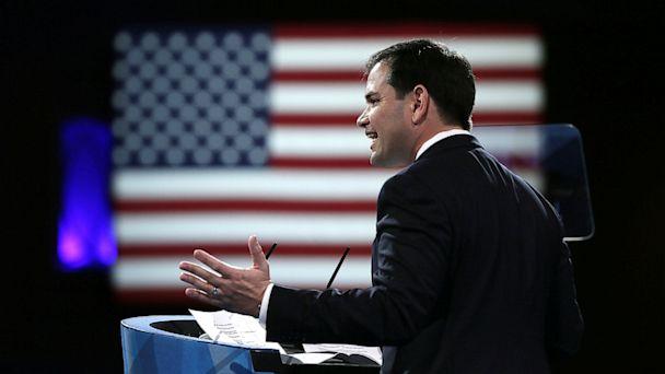 PHOTO: Marco Rubio Gives A Speech
