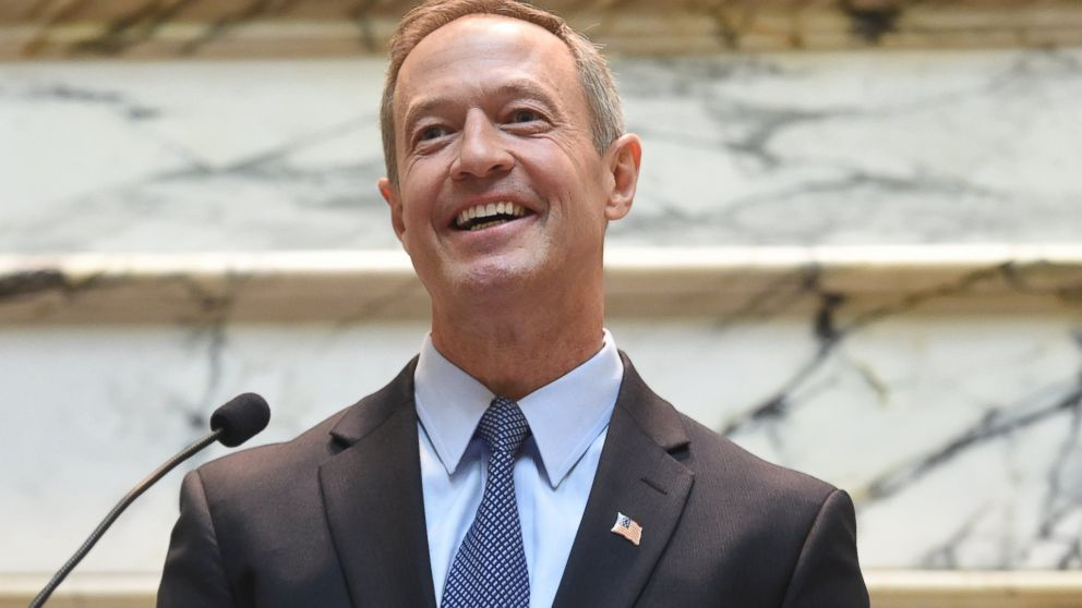 Governor Martin O'Malley is pictured on Jan. 6, 2015 in Annapolis, Md.