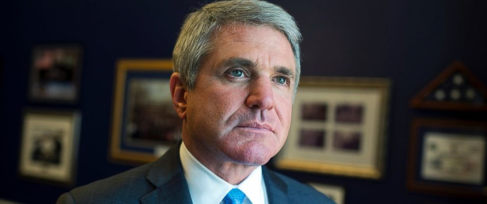 PHOTO: Rep. Michael McCaul is photographed in his Cannon Building office, May 18, 2016.