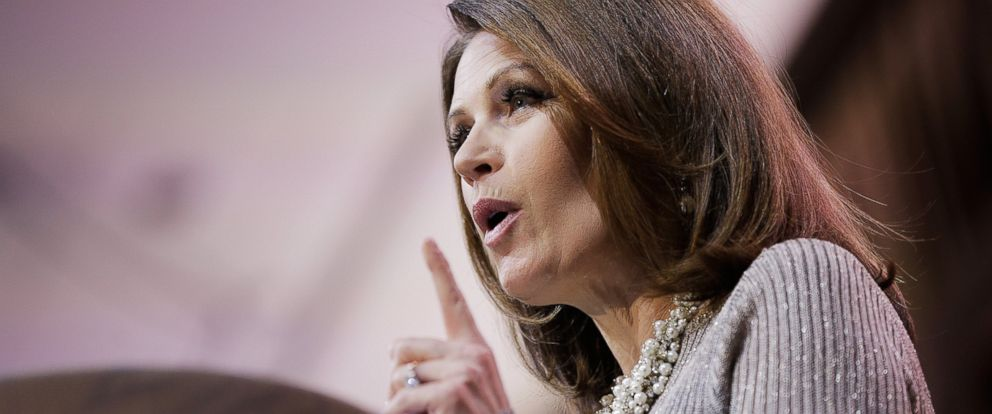PHOTO: Michele Bachmann is pictured on March 8, 2014 in National Harbor, Md.