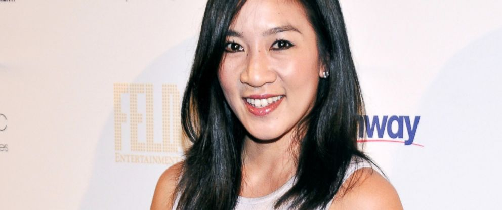 PHOTO: Michelle Kwan attends the 10th Annual Skating With The Stars Benefit Gala at 583 Park Avenue, April 13, 2015, in New York City.