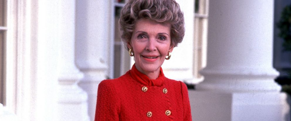 PHOTO:Former First Lady Nancy Reagan, poses for a portrait at the White House in Washington.