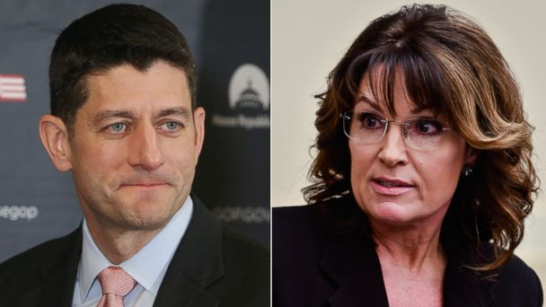 Paul Ryan's Career 'Over' for Not Supporting Trump, Sarah Palin Says