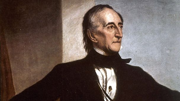 PHOTO: John Tyler, vice-president then president of the United States of America.