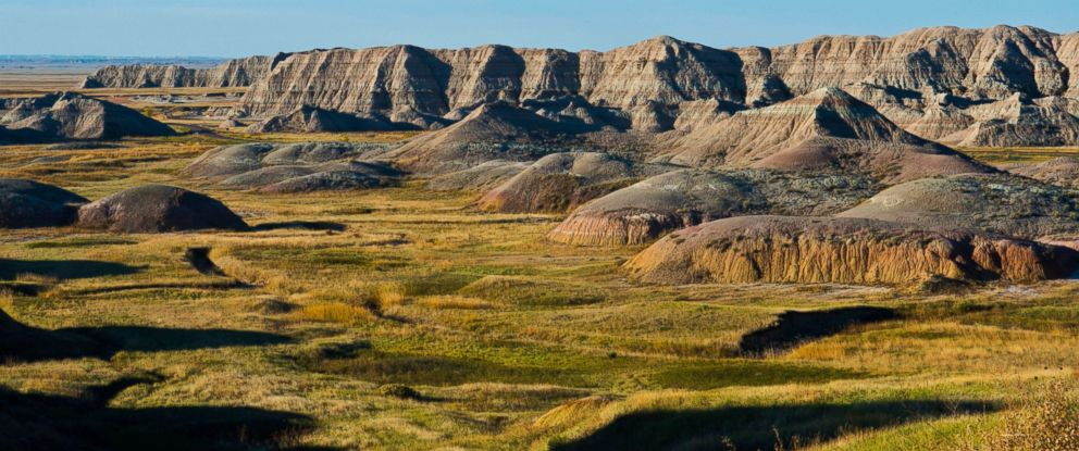 PHOTO: South Dakotas Badlands National Park, Oct. 18, 2015.