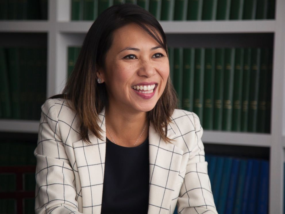 PHOTO: Stephanie Murphy defeated John Mica in the race for Floridas 7th congressional district, Sept. 23, 2016.