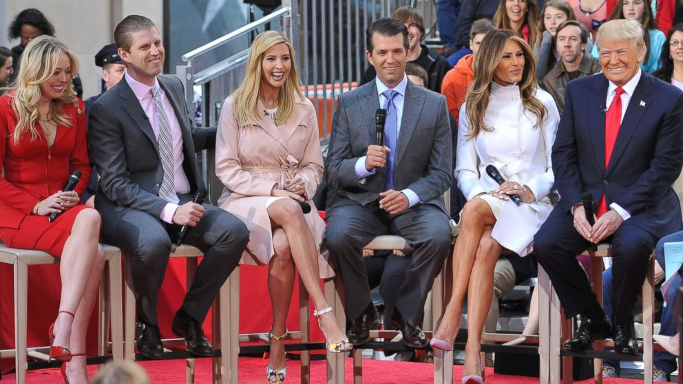 Donald Trump Says His Kids 'Probably' Wouldn't Have White ...