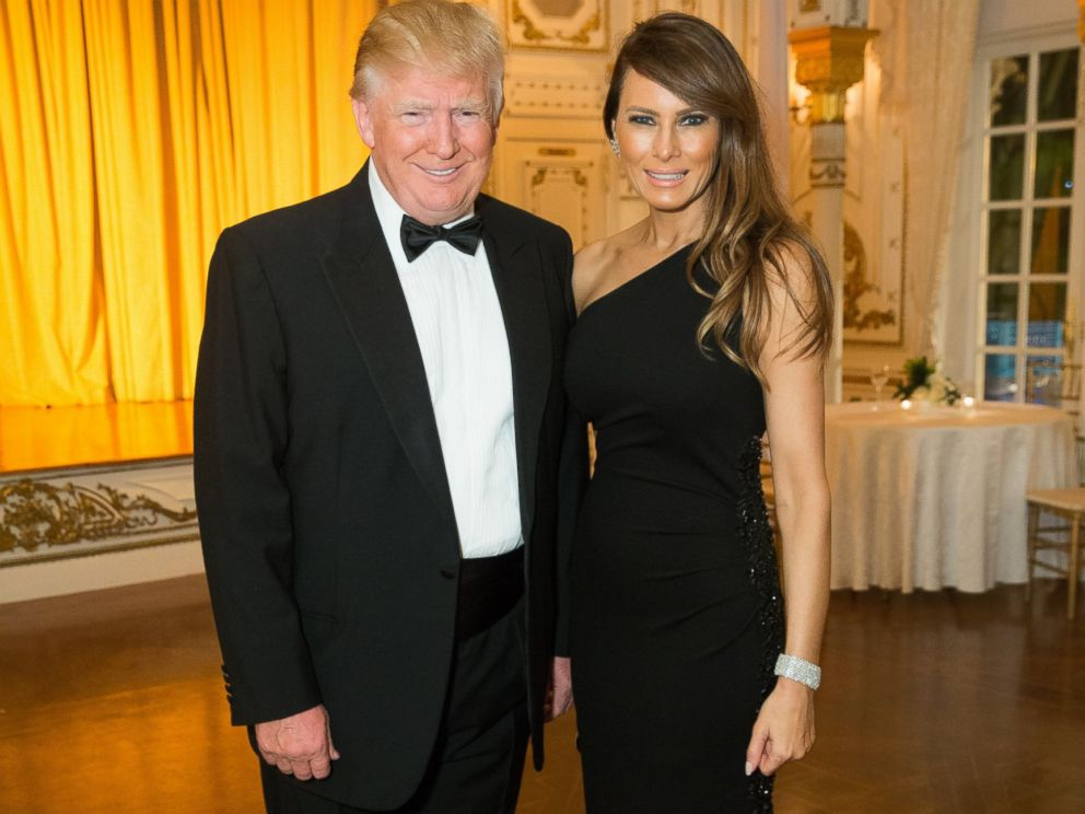 PHOTO:Donald Trump and Melania Trump attend the 58th International Red Cross Ball at The Mar-a-Largo Club, Feb. 28, 2015, in Palm Beach, Fla.