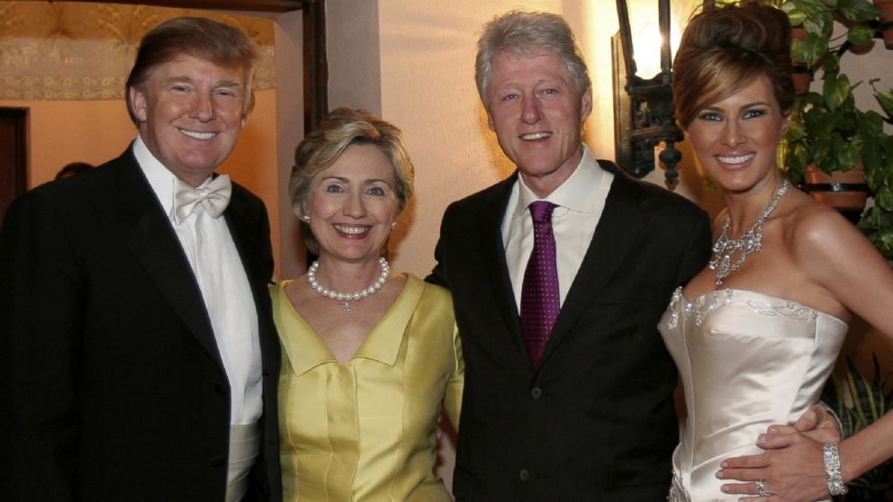 Donald Trump Says His Money Drew Hillary Clinton To Wedding Abc News