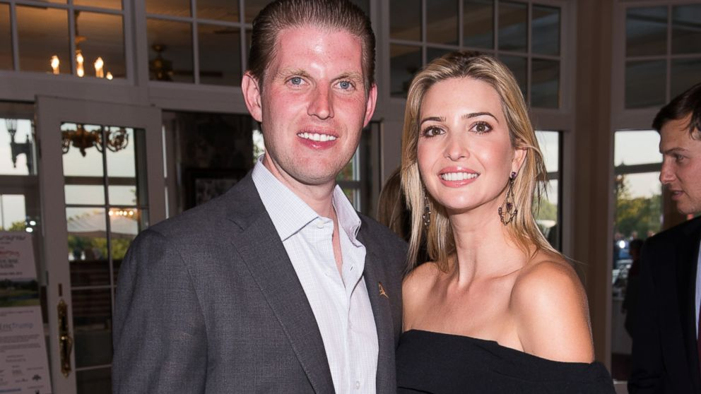 Donald Trumps Kids Eric And Ivanka Miss Deadline To Vote In NY GOP Primary