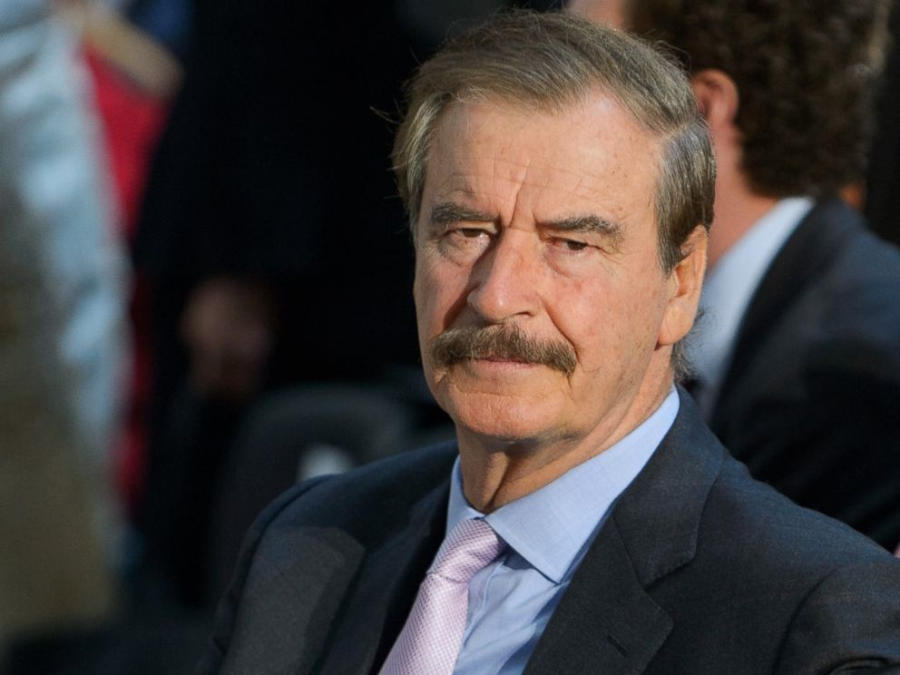 PHOTO: Former Mexican President Vicente Fox is seen before the start of the Congressional Gold Medal presentation ceremony for Bangladeshi economist Muhammad Yunus, April 17, 2013, in the Rotunda of the U.S. Capitol in Washington.