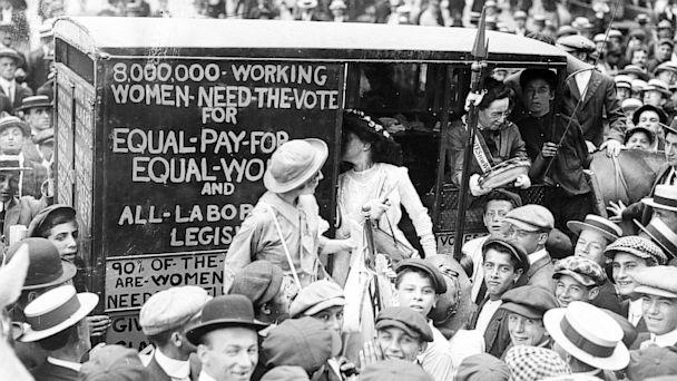 PHOTO: Washington Suffragettes