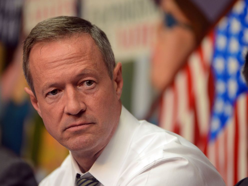 PHOTO: Gov. Martin OMalley discusses his plan to fix the inhumane Immigration system in the United States at the 25th St. offices of The NY Immigration Coalition, July 14, 2015 in New York