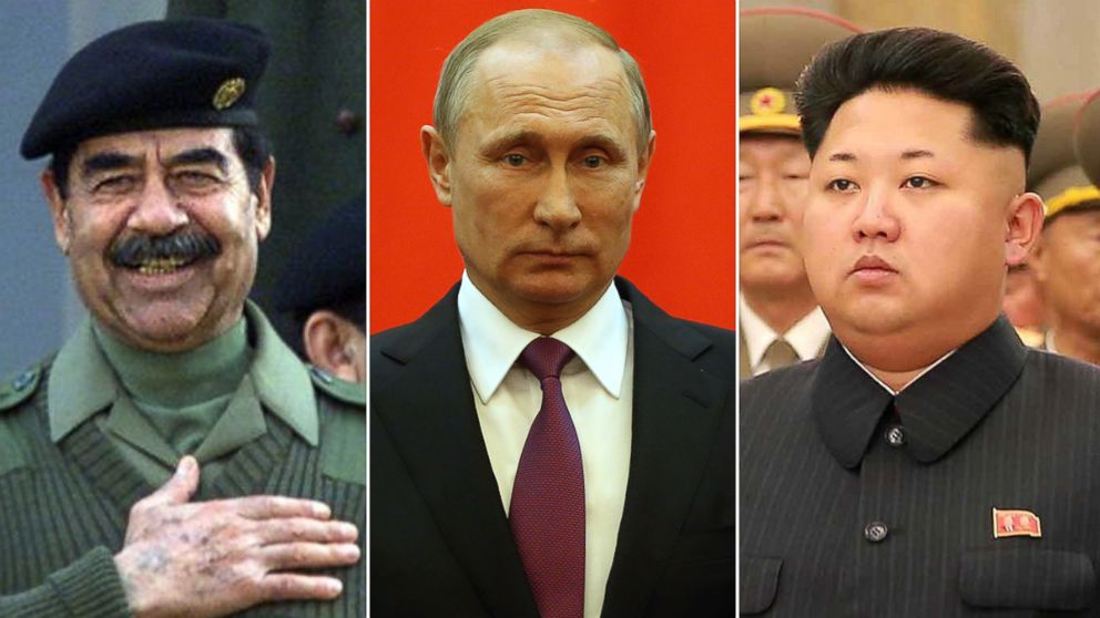 5 Controversial Dictators And Leaders Donald Trump Has Praised Abc News