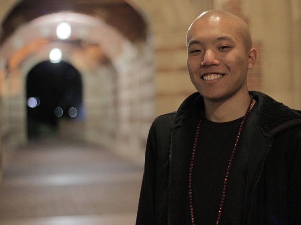 PHOTO: Andrew Sam, 21, a UCLA student active in efforts to increase Asian-American political participation. <p itemprop=