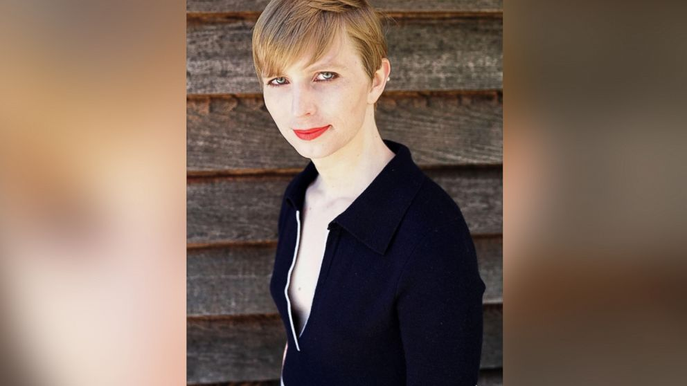 """Chelsea Manning posted this photo on Instagram with this caption:""""Okay, so here I am everyone!!"""" on May 18, 2017."""