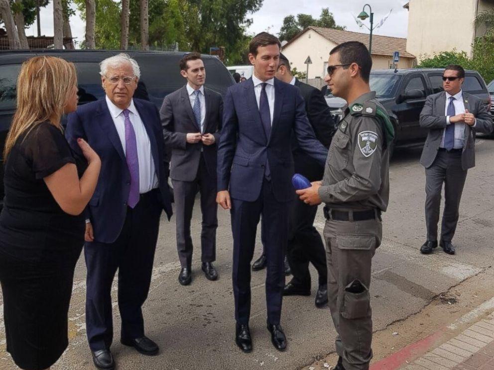 PHOTO: Jared Kushner arrived in Israel, June 21, 2017.
