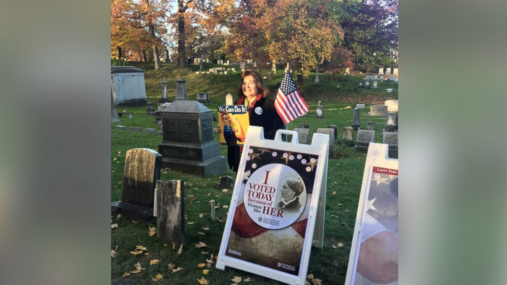 The City of Rochester Mayor's office says thousands of people made their way to Susan B. Anthony's grave to honor the late suffragette.