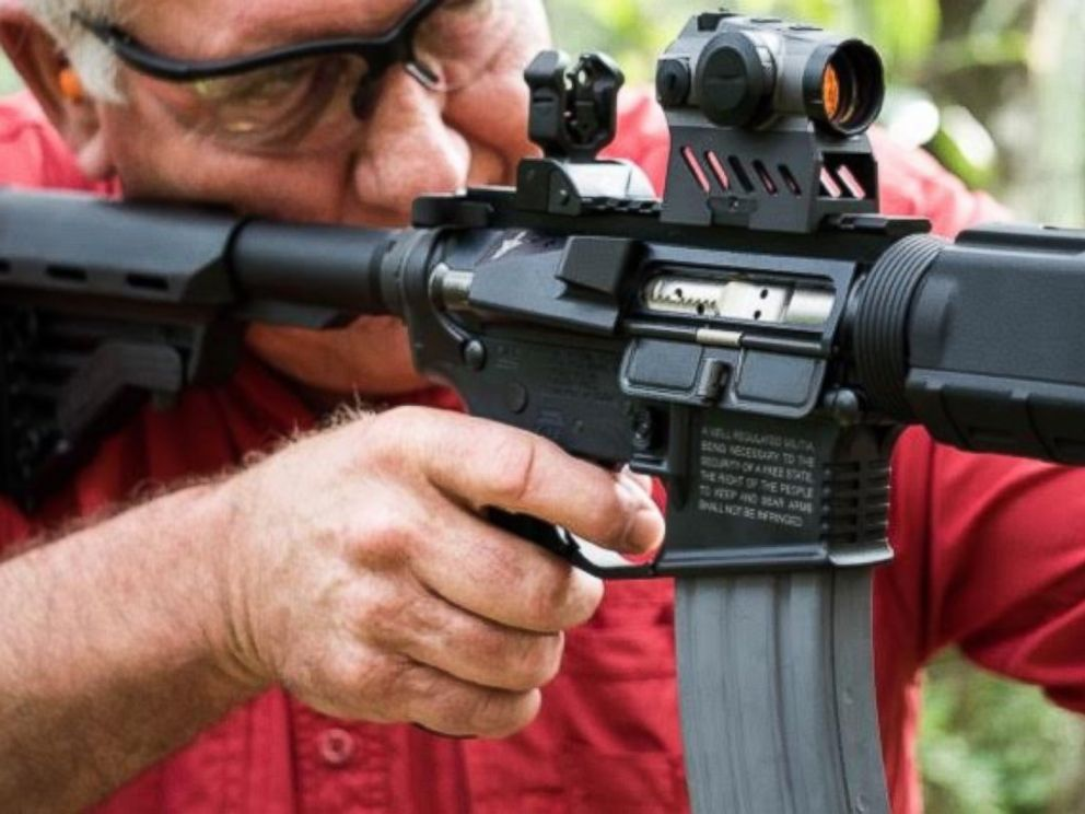 PHOTO: Sen. Greg Evers, who is running for Congress in the Florida Panhandle, has announced a Facebook contest to give away a semi-automatic rifle. Evers said June 20, 2016, that he is giving away an AR-15.
