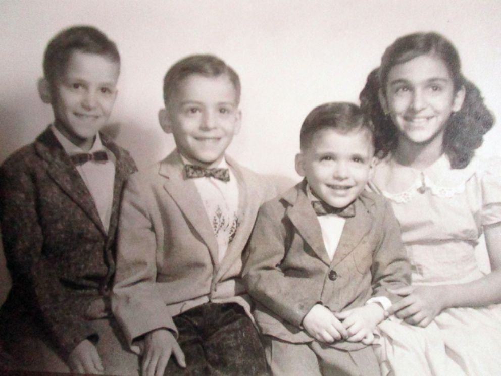 PHOTO: This undated family photo shows Gonzalo Curiel (second to the right) and his three siblings.
