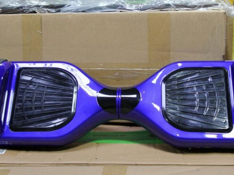 PHOTO: CBP officers seized more than $171,000 worth of counterfeit hoverboards at the Port of Norfolk, Va. on Dec. 16, 2015.