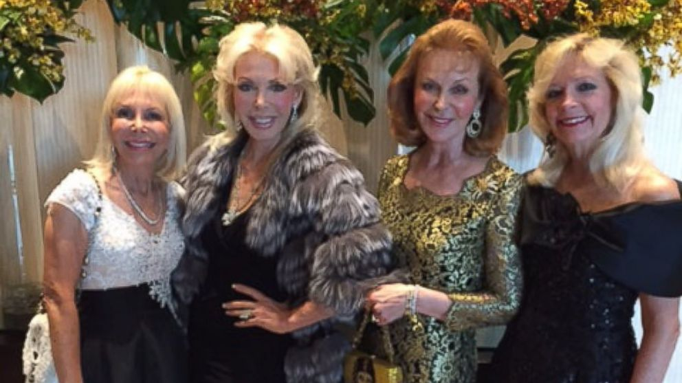 The founding Trumpettes members, pictured here, are Janet Levy, Suzi Goldsmith, Terry Lee Ebert Mendozza and Toni Holt Kramer.