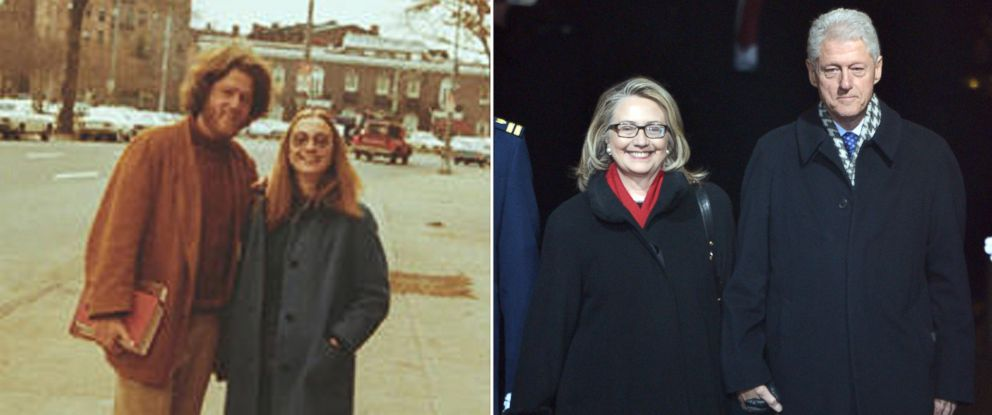 Photo Bill And Hillary Clinton Seen Together In This Undated Right Former