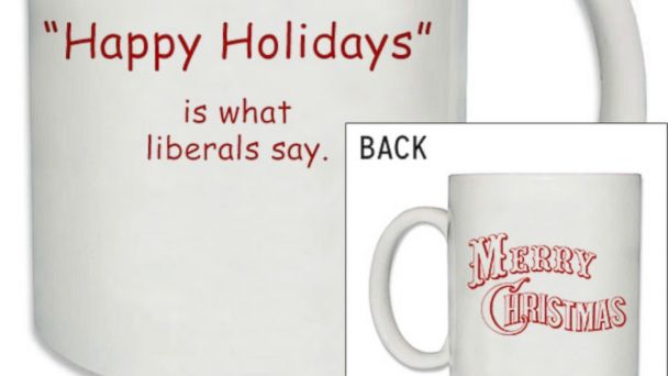 PHOTO: Merry Christmas Mug for sale at the NRCC online shop.