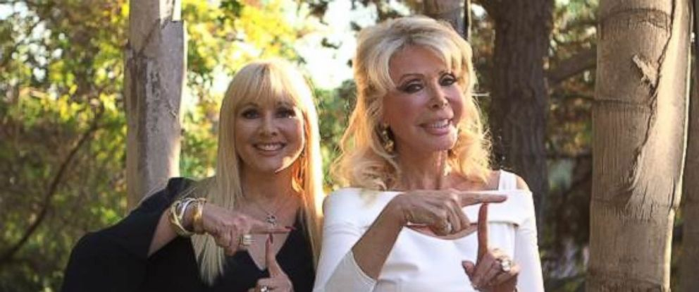 PHOTO: Trumpettes Rhonda Shear and Toni Halt Kramer are pictured together here.