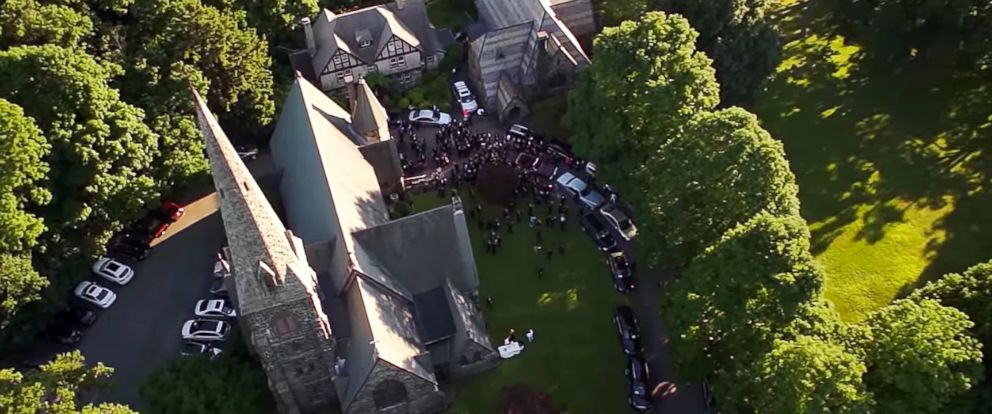 PHOTO An Aerial Footage From Rep Sean Patrick Maloneys June 21 Wedding To Longtime
