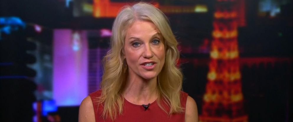 """PHOTO: Kellyanne Conway appeared on """"Good Morning America,"""" Oct. 20, 2016."""
