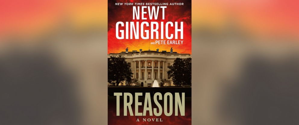 "PHOTO: Newt Gingrichs book ""Treason."""