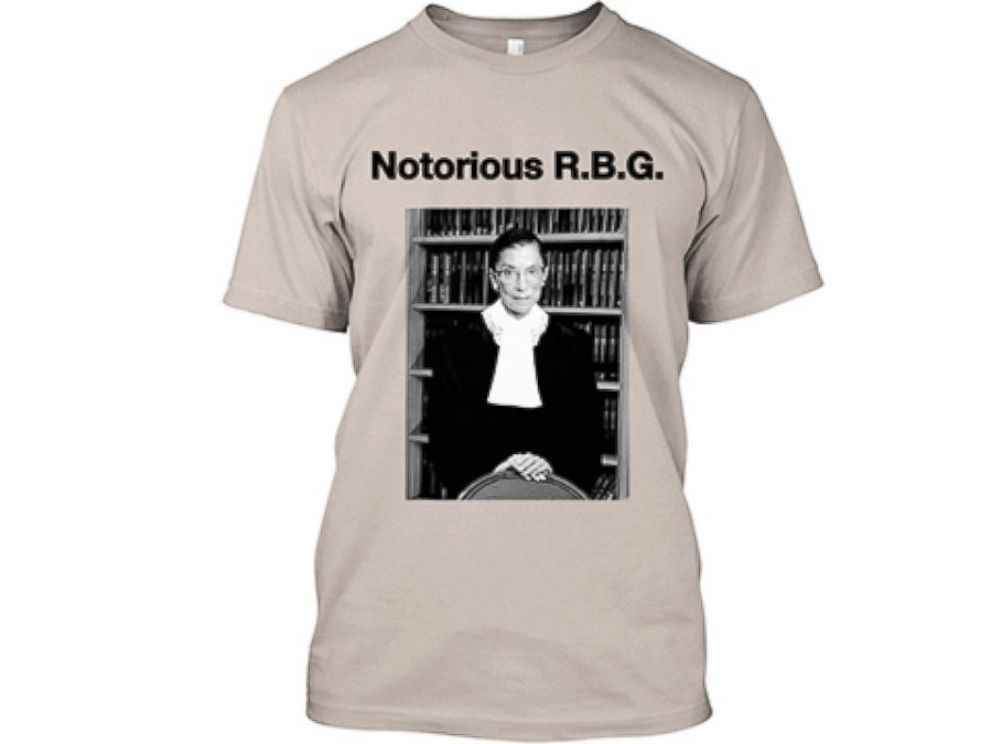 PHOTO: Fans of Ruth Bader Ginsburg made a Tumblr and designed t-shirts in honor of the associate Supreme Court Justice.