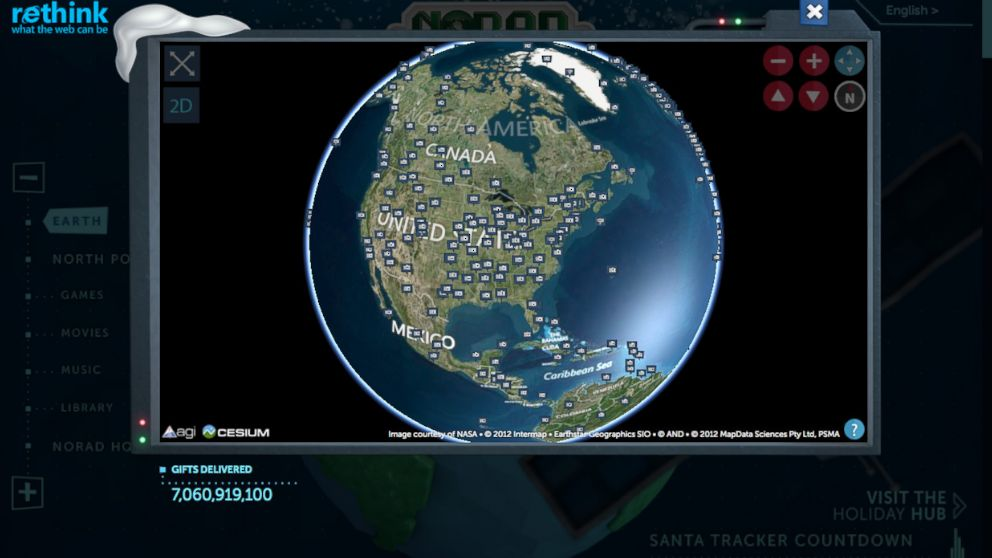 Don't worry kids, NORAD will still track Santa through the ... on track santa now map, santa fa on a usa map, snow tracker map, easter bunny tracker map, santa is real, bubble map, santa that tracks santatraker, santa county map, santa flying over a map, santa on crack, santa norad finder, santa tracker christmas eve, santa tracer com, santa map progress, google earth santa tracker map, santa movies, santa games, north pole map,