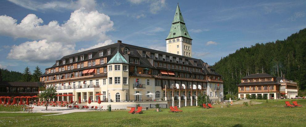PHOTO: The Schloss Elmau will host the G7 Summit June 7-8.