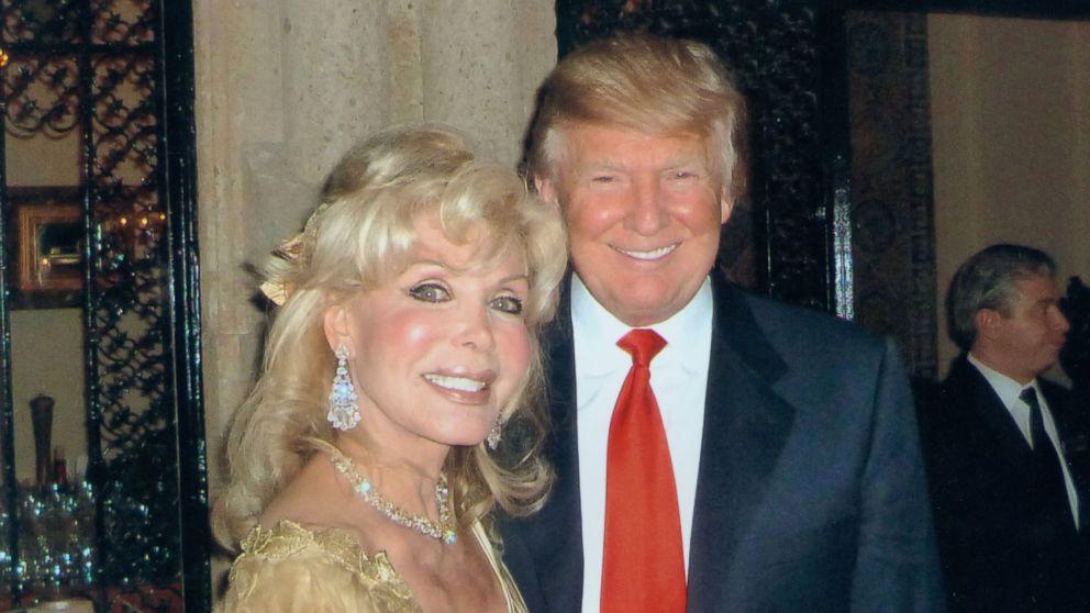 Trumpettes founder Toni Halt Kramer poses with Republican presidential nominee Donald Trump.