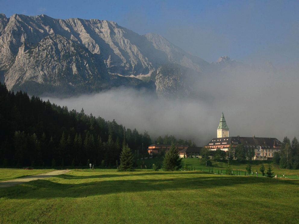 PHOTO: The Schloss Elmau, which is hosting the G7 Summit, is in Krun, Germany in the Bavarian Alps.