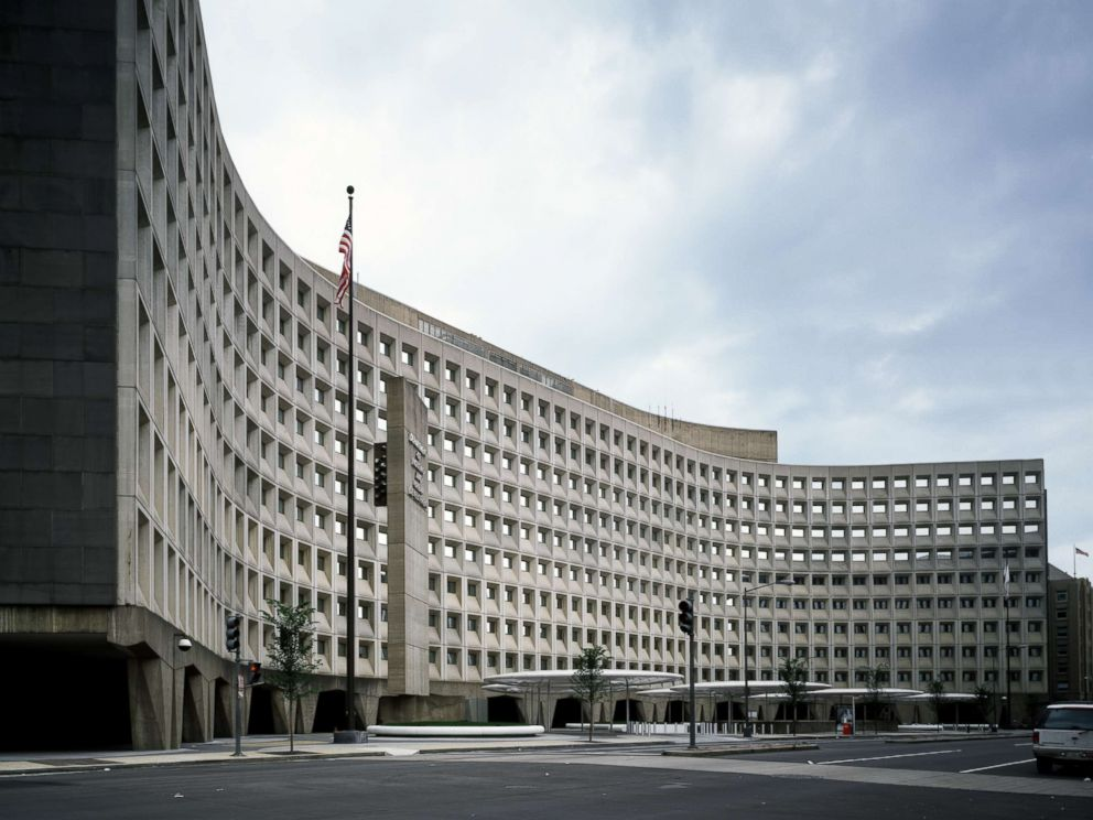 PHOTO: Robert C. Weaver Federal Building, headquarters of HUD, the U.S. Department of Housing and Urban Development, Washington.