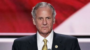 PHOTO: Lt. Gov. of South Carolina, Henry McMaster speaks at the Republican National Convention, July 19, 2016, in Cleveland, Ohio.