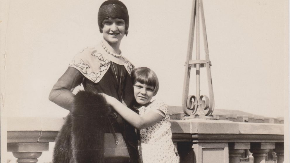 Nan Britton and her daughter Elizabeth Ann Britton are seen in this undated family photo.