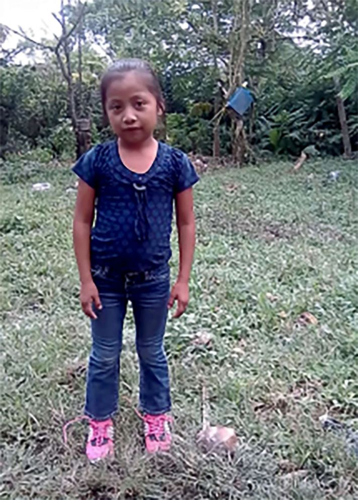 PHOTO: Jakelin Caal Maquin is pictured in an undated photo.