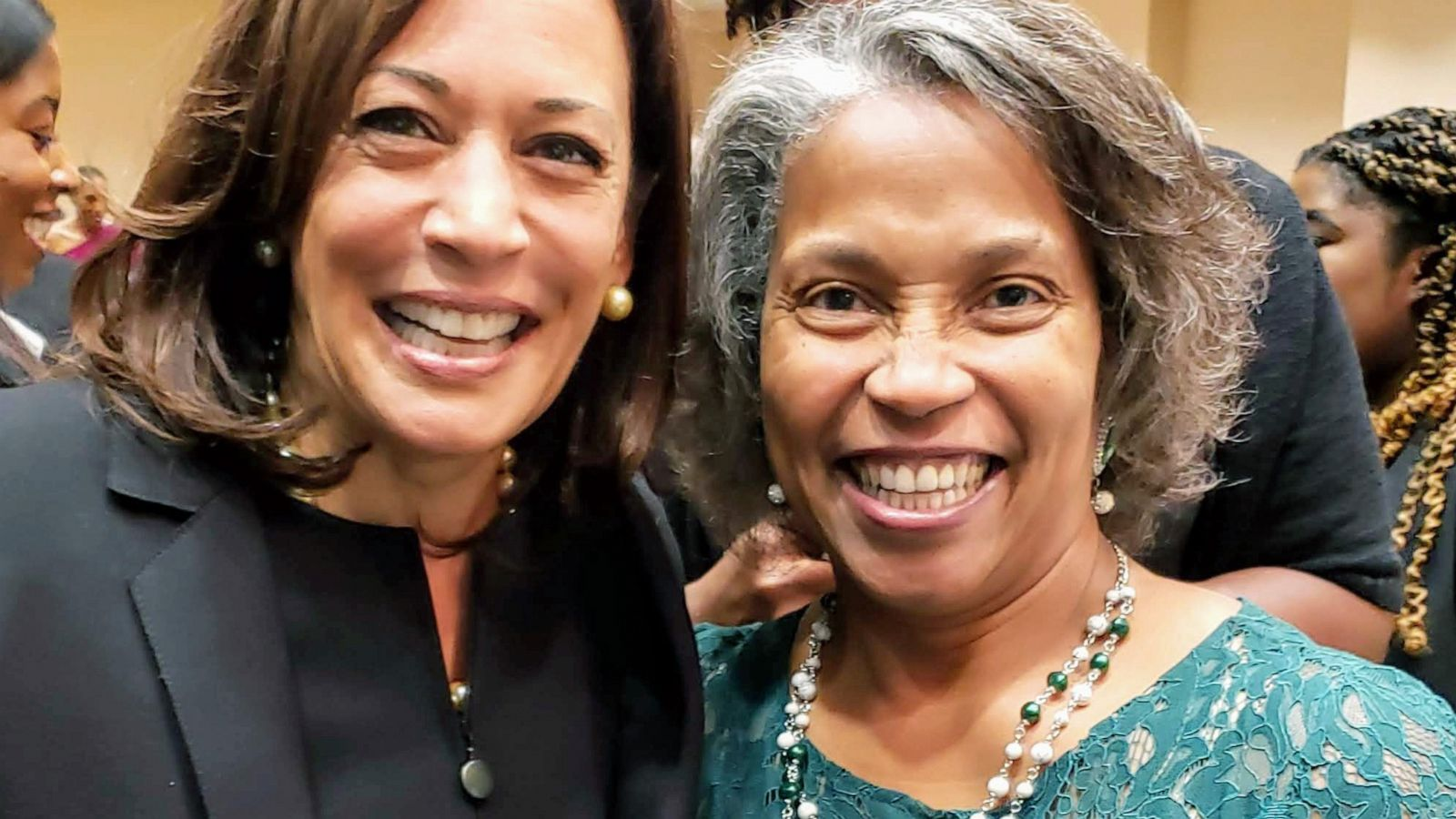 A Divine Sisterhood Kamala Harris Historic Run Hailed As Hbcu Triumph Abc News